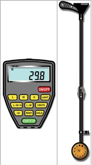 M&MPro Distance Measuring Wheel DMMW200