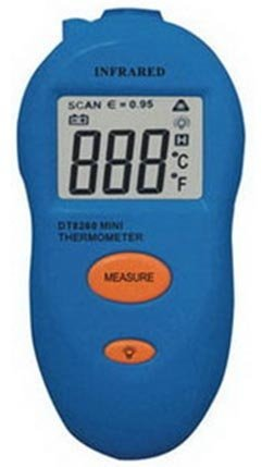M&MPRO Infrared Thermometer TMDT8260